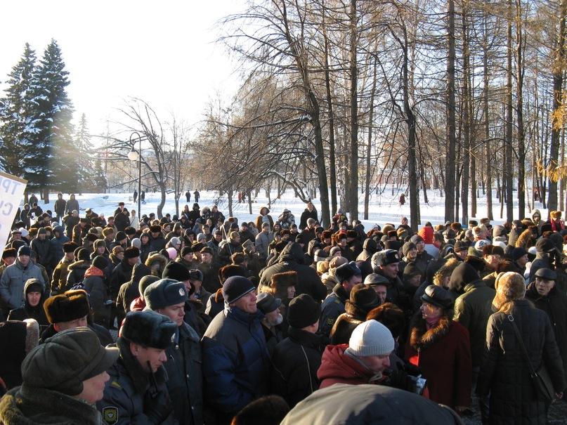 Митинг в Ижевске 18-12-2011