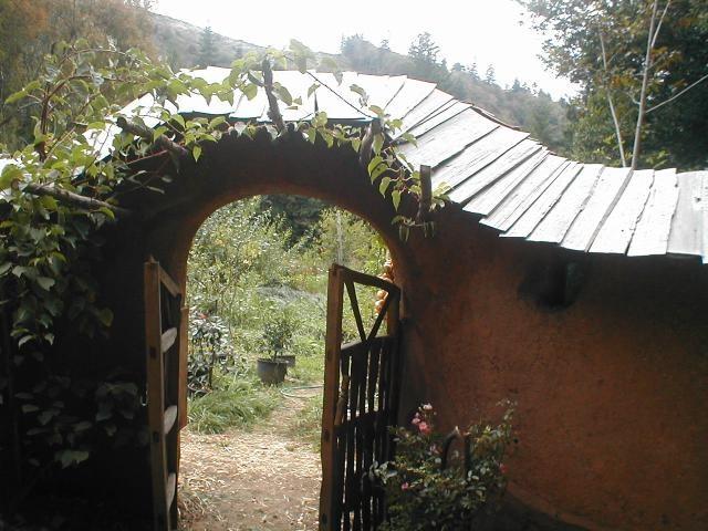 Саманный забор, ограда